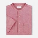 UNIQLO 优衣库 406428 男装麻棉立领衬衫39元,仅限门店自提