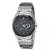 历史低价:CASIO卡西欧Edifice系列EFA119BK-1AV男士双显时装腕表