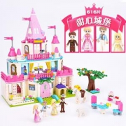 GUDI古迪Alice公主系列甜心城堡68元包邮(需用券)