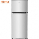 Homa 奥马 BCD-118A5 双门冰箱 118升 698元包邮698元包邮
