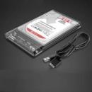 Orico 奥睿科 2.5寸全透明固态移动硬盘盒 USB 3.0 24.9元包邮¥25