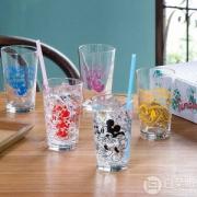 Aderia 石塚硝子 S-6163 迪士尼卡通玻璃杯230ml*5个礼盒装 Prime会员凑单免费直邮含税