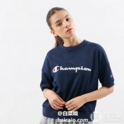 M/L码,Champion 冠军牌 CW-PS001 女士短袖T恤 Prime会员凑单免费直邮含税