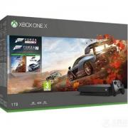 Microsoft 微软 Xbox One X 1TB 游戏主机 《极限竞速4》+ 《极限竞速7》同捆版 Prime会员免费直邮