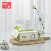 babycare 婴儿湿巾手 80抽 5包 62元包邮(满减)