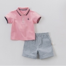 dave&bella 戴维贝拉 男童夏季短袖套装 129元包邮(需用券)¥129