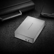 LaCie 莱斯 Porsche Design保时捷系列 USB-C桌面硬盘6TB Prime会员免费直邮含税