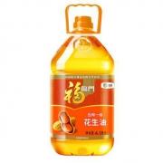 福临门 食用油 压榨一级花生油(京东定制)6.18L 中粮出品