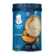 Gerber嘉宝婴幼儿米粉225g二段南瓜味*4件