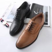 网易严选 男士简约光面商务正装鞋新低184.5元包邮(需用券)