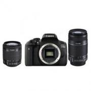 Canon 佳能 EOS 750D 单反双头套机(EF-S 18-55mm f/3.5-5.6 IS STM、EF-S 55-250mm f/4-5.6 IS STM) 5199元包邮5199元包邮