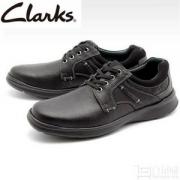 Clarks 其乐 男士Cotrell Plain 真皮健步休闲鞋 2色 Prime会员免费直邮含税到手386.53元