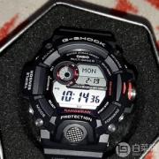"""Casio 卡西欧 G-Shock系列 GW9400-1 """"猫人"""" 男款电波表*2件 $299.68(需用码)"""