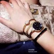 Anne Klein 安妮 克莱恩 AK/1470GBST 女士手镯手表套装 prime会员免费直邮