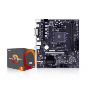 Ryzen 5 2600 CPU处理器 + COLORFUL 七彩虹 B450M-HD主板