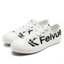 FEI YUE 飞跃 DF/1-2041 中性logo帆布鞋 68元包邮(双重优惠)68元包邮(双重优惠)