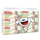 Nuby 努比 婴儿湿巾 80片×6包 *2件 62.87元(合5.2元/包)¥63