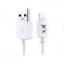 JFX 金飞迅 MFi认证 苹果lightning数据线 1M 2色可选 19.8元包邮¥20