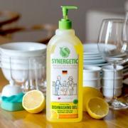 SYNERGETIC 森力佳 柠檬果蔬餐具洗洁精 1000ml新低19.9元包邮(需领券)