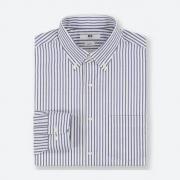 优衣库 男式弹力条纹衬衫39元,仅支持部分门店自提