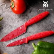 WMF 福腾宝 Red Touch系列 1879085100 刀具套装2件装*6套 ¥197.9包邮新低33元/件(双重优惠)