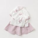 davebella 戴维贝拉 女童中国风汉服裙套装139元包邮