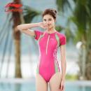 Li-Ning 李宁 女士三角连体泳衣 多款58元包邮(需领券)