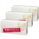 Sagami Original幸福相模001超薄避孕套/安全套   5只*3盒补货2790日元(约¥178)