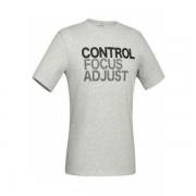 迪卡侬 logo印花吸汗宽松健身t恤 狂欢价39元