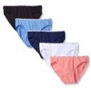 Calvin Klein 卡尔文·克莱恩 女士弹力棉质内裤 5条装 Prime会员凑单免费直邮含税到手140.25元