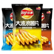 Lay's 乐事 大波浪薯片组合包 70克*3包 *2件 23.1元(2件7折)