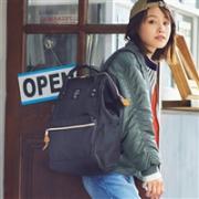 日本潮流街包 anello AT-B0193A 时尚双肩包