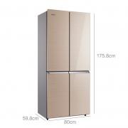 KONKA 康佳 BCD-386BX4S 386升 十字对开门冰箱 1699元包邮¥1699
