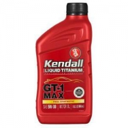 Kendall康度美国原装进口MAX钛流体全合成机油5W-30SN级946ML*3件