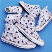 Converse匡威 ALL STAR 100 MANYPATCH HI 限定款男女士帆布鞋