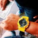 Casio 卡西欧 G-Shock系列 GA-100A-9AER 男士双显运动手表 Prime会员免费直邮含税到手485元