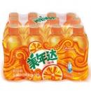 限地区:Mirinda美年达橙味汽水碳酸饮料330ml*12瓶19.9元,可优惠至15.92元