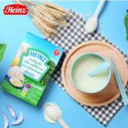 英国进口 亨氏 宝宝辅食营养米粉100g*3盒