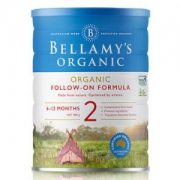 Bellamy's贝拉米有机较大婴儿配方奶粉2段900g/罐*7件