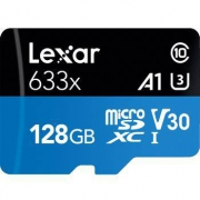 Lexar 雷克沙 633x MicroSDXC A1 UHS-I U3 TF存储卡 128GB