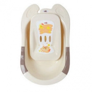 rikang 日康 婴儿浴盆 RK-3626 大号带躺板 56.05元包邮(双重优惠)