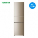 Ronshen 容声 BCD-220WD16NP 风冷无霜 三门冰箱 220L 1699元包邮(下单立减)¥1699