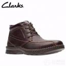 限UK9码,Clarks 其乐 Vanek Rise 男士真皮系带短靴 Prime会员免费直邮含税到手284.02元