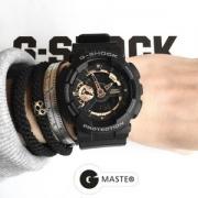 CASIO 卡西欧 G-SHOCK系列 GA-110RG-1A男士双显运动手表