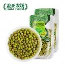 盖亚农场 有机绿豆450g*2东北豆五谷杂粮新薄皮小绿豆可做绿豆饼¥33.9包邮