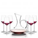 DETIDDET 德庭 玻璃红酒杯 350ml 4支 11.9元包邮(需用券)¥12