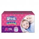 Anerle 安儿乐 干爽超薄婴儿纸尿裤 M78片  *2件 87.5元包邮(合43.7元/件)¥88