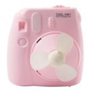 小班长 GL229 USB小风扇 卡通相机造型 800mAh可充电 13.8元包邮(需用券)¥14