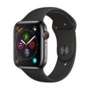 Apple 苹果 Watch Series 4 智能手表(深空灰铝金属、GPS+蜂窝、44mm、黑色运动型表带) 3058元包邮