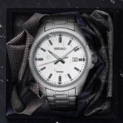 SEIKO精工SUR273P1男士时装腕表